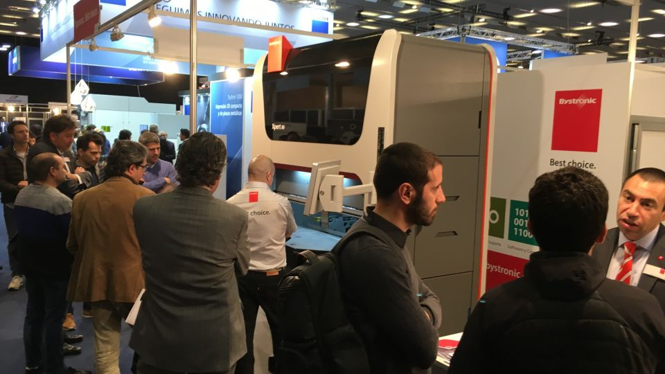 Bystronic en Advanced Factories 2018